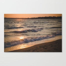 Waves. Canvas Print