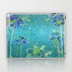 Palm Trees In Art Laptop & iPad Skin