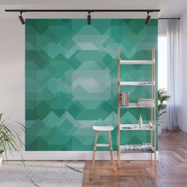 Emerald gem stone Wall Mural