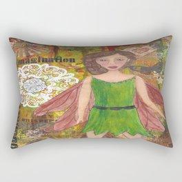 Nut Brown Fairy Rectangular Pillow