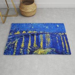 Starry Night Over Rhone Rug