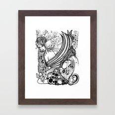 Hunger Games Framed Art Print