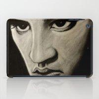 elvis iPad Cases featuring ELVIS by John McGlynn