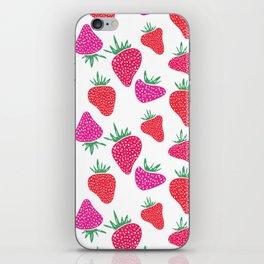 Very Berry Strawberries iPhone Skin