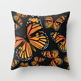 Monarch Butterflies | Monarch Butterfly | Vintage Butterflies | Butterfly Patterns | Throw Pillow