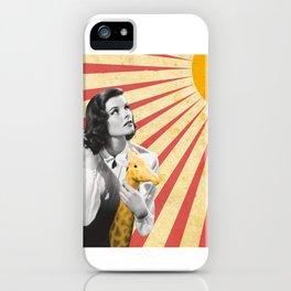 Katherine Hepburn Sun iPhone Case
