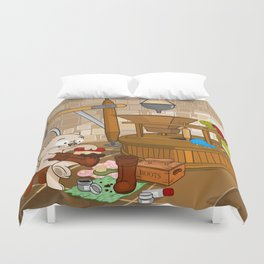 Puss in boots Duvet Cover