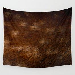 Deer Fur Wall Tapestry