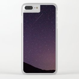 Teide by Night Skies Clear iPhone Case