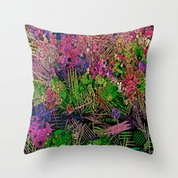 paradise Throw Pillows featuring :: Paradise :: by :: GaleStorm Artworks ::
