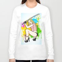 knight Long Sleeve T-shirts featuring KNIGHT by Don Kuing