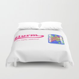future ad Slurm Duvet Cover