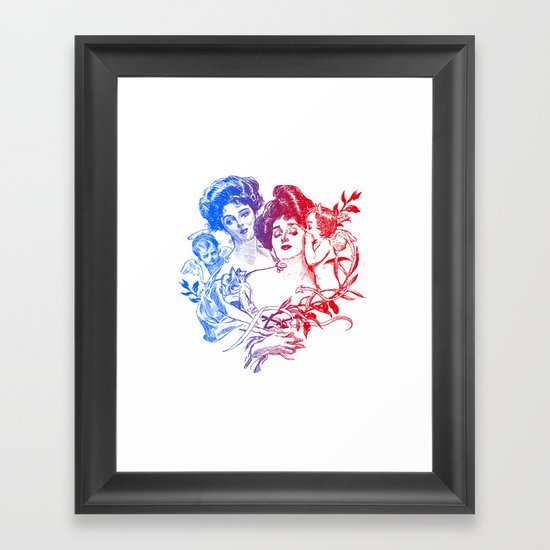 Little Whispers Framed Art Print