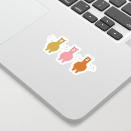 The Alpacas III Sticker