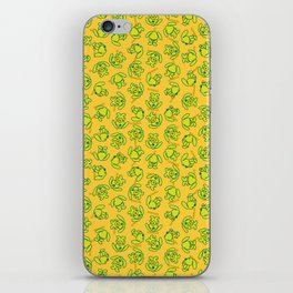 Botanken's Pattern Dream: Yellow. iPhone Skin