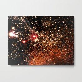 Festival (Art of Sparks) Metal Print