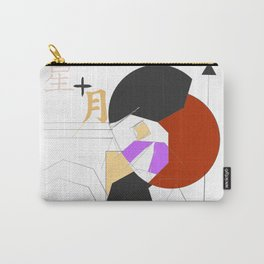 Moon and Star [Broken] Carry-All Pouch