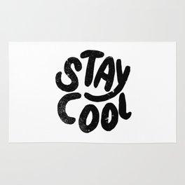 Stay Cool Vintage B&W Rug