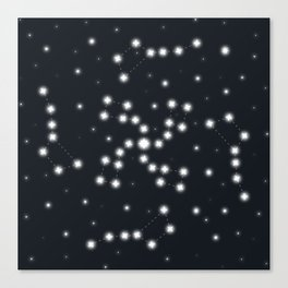Galaxy Ursa Canvas Print