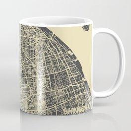 Shanghai Map #1 Coffee Mug