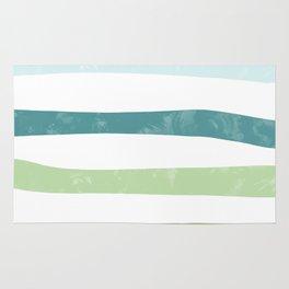 Watercolor stripes Rug