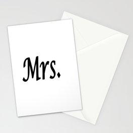 Mrs. Stationery Cards