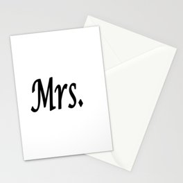 Mrs. Stationery Cards