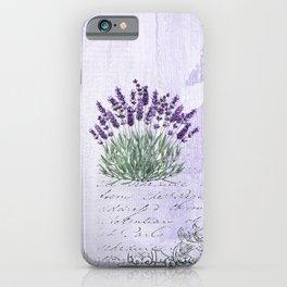 Lavender scent iPhone Case