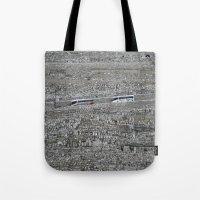 palestine Tote Bags featuring Jerusalem Palestine by Sanchez Grande