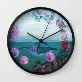 A Rising Tide Wall Clock