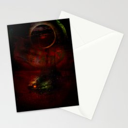 Leaving the planet 72 Pegasi Stationery Cards
