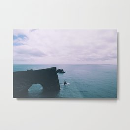 Ocean Arch Metal Print