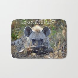 Beautiful Hyena Bath Mat