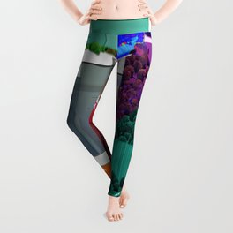 Real Estate Fantasy Leggings