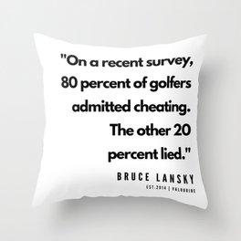 14  | Golf Quotes | 190606 Throw Pillow