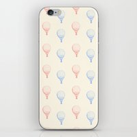 ballon iPhone & iPod Skins featuring BALLON by JeremyG