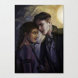 Improvised Intimacy Canvas Print