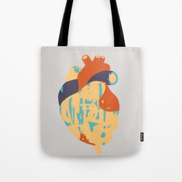 Heart:Released Tote Bag