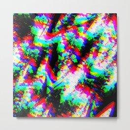 Distraction glass Metal Print