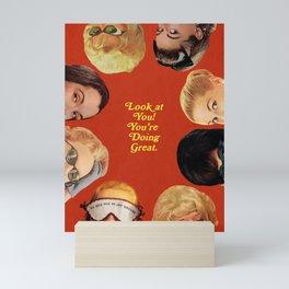 Look at You! Mini Art Print