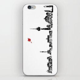 Berlin City Skyline , Germany , Bahn Tower, Brandenburg Gate, Berlin Cathedral, Reichstag Building iPhone Skin