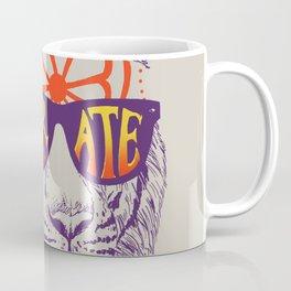 Karate Tiger Coffee Mug