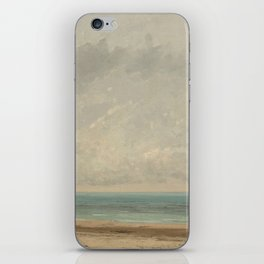 Gustave Courbet Calm Sea 1866 Painting iPhone Skin