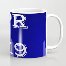 Spring 19 Blue and White Limited Edition Coffee Mug