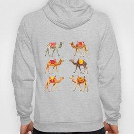 Cute watercolor camels Hoody