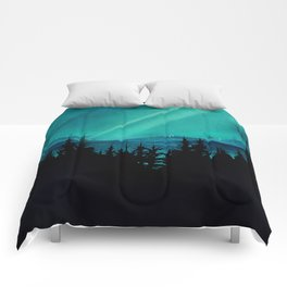 Magic in the Woods - Turquoise Comforters