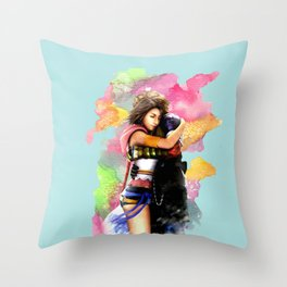 YUNA & TIDUS - FFX Throw Pillow
