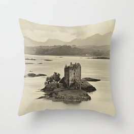 Castle Stalker Throw Pillow