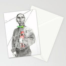 K and his alibi Stationery Cards