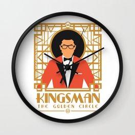 Kingsman - The Golden Circle Wall Clock